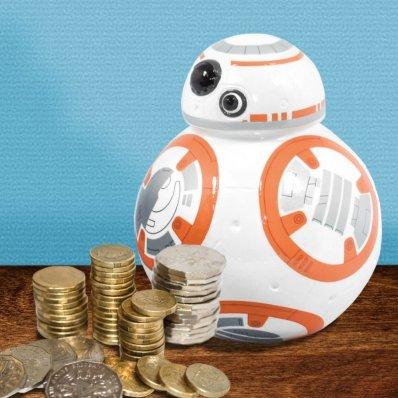 Skarbonka Star Wars BB-8 Ceramiczna dla każdego fana Gwiezdnej Sagi
