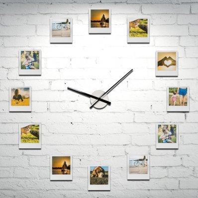 Zegar z ramkami na zdjęcia - 12 ramek z Twoimi wspomnieniami