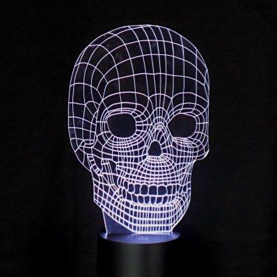 Iluzoryczna Lampa 3D Kolor - świetny efekt trójwymiarowy