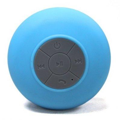 Głośnik Bluetooth Silicone Shower - niebieski