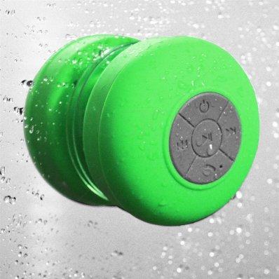 Głośnik Bluetooth Silicone Shower - zielony