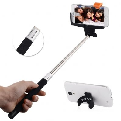 Monopod selfie bluetooth z przyciskiem - jeszcze wygodniejszy!