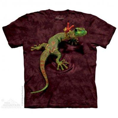 Koszulka 3D The Mountain Peace Out Gecko