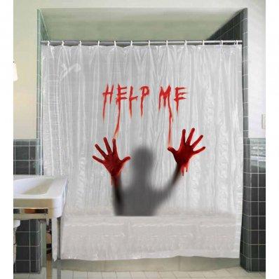 Edytuj: Krwawa zasłonka pod prysznic