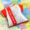 Poduszka Kibica + Flaga + Pokrowce + Pałki - Zestaw prawdziwego Kibica
