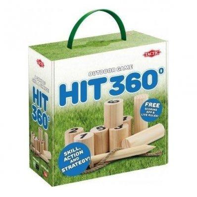 Gra plenerowa Hit 360° - kręgle w Twoim ogrodzie