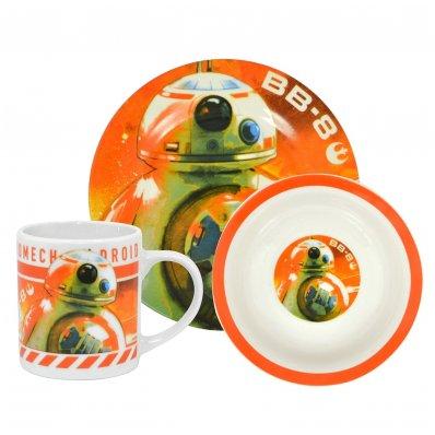 Zestaw śniadaniowy Star Wars z motywem BB-8