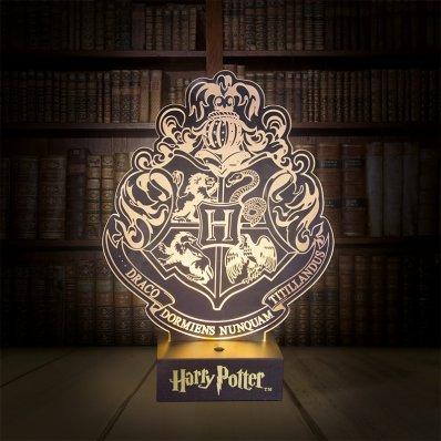 Lampa Harry Potter Herb Hogwartu - nie dla mugoli!