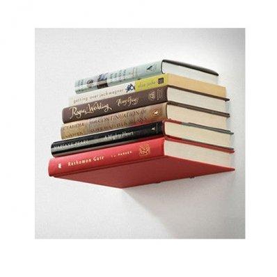 Półka Lewitujące Książki - oryginalny design dla moli książkowych