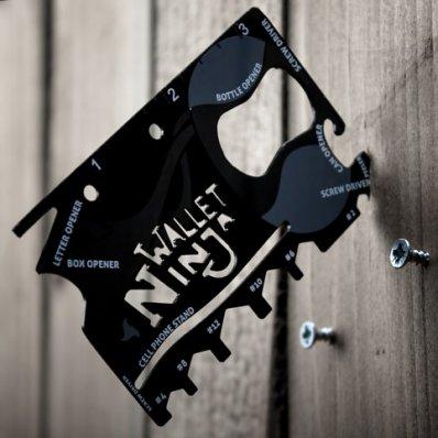 Wallet Ninja 18 w 1 - zmieść ekwipunek ninja w swoim portfelu