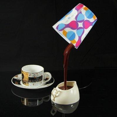 Lampa Kawosza - idealna obok kubka ciepłej kawy.