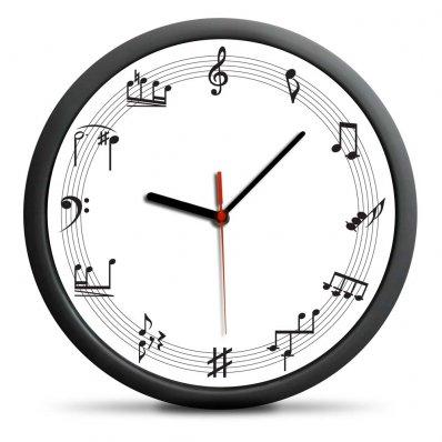 Zegar Muzyka - idealny dla wrażliwych na piękno muzyki