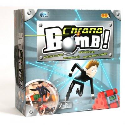 Gra dla dzieci Chrono Bomb - pokonaj sieć laserów i rozbrój bombę