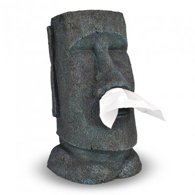 Pojemnik na chusteczki Big Moai - dla zakatarzonych gości