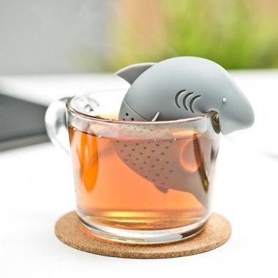 """Zaparzacz do herbaty """"Szczęki"""". Kreatywnie i z przymróżeniem oka."""