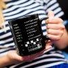 Gigantyczny Kubek Kujona - 900ml kawy z łamigłówkami