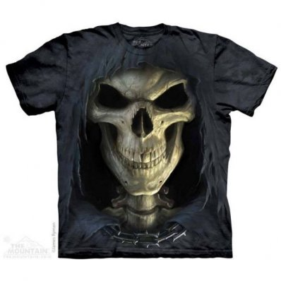 Koszulka 3D The Mountain Big Face Death