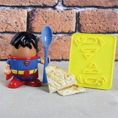 Podstawka pod jajka Superman - śniadanie bohatera!