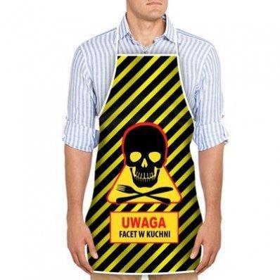 Fartuszek Niebezpiecznego Kucharza - dla każdego gotującego faceta