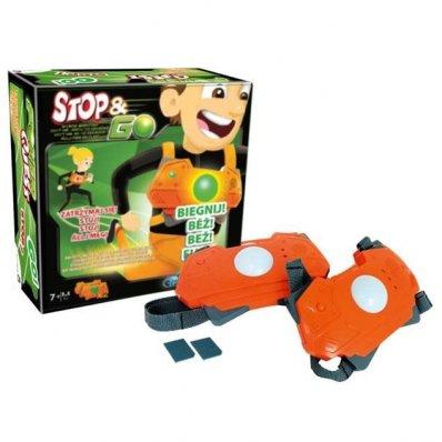 Gra interaktywna Stop & Go - Wyścig Agentów