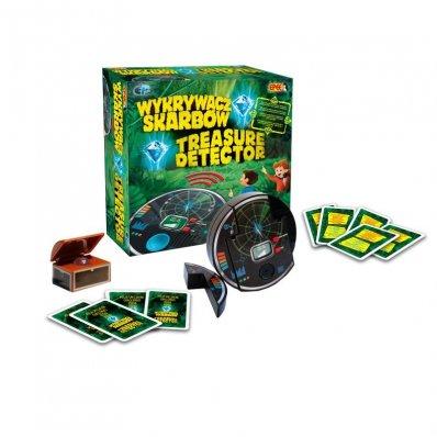 Interaktywna gra dla dzieci Wykrywacz Skarbów