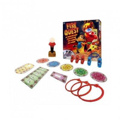 Gra Dla Dzieci Fire Quest - zapal pochodnię i podążaj za jej blaskiem!