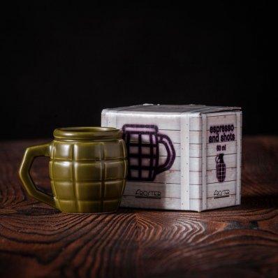 Bombowy Kieliszek - idealny również do espresso