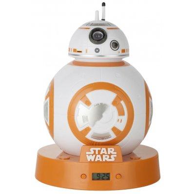 Budzik Star Wars BB-8 Projekcyjny - z oryginalnymi dźwiękami droida