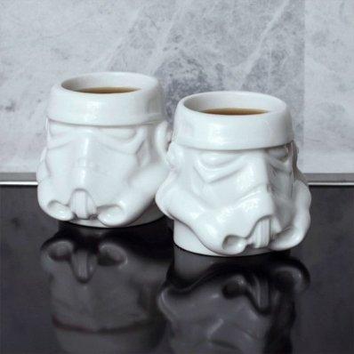 Filiżanki do espresso Star Wars Szturmowiec - walnij sobie kawkę i Starą Trylogię