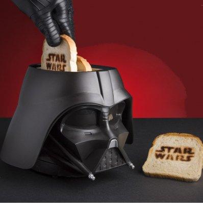 Toster Star Wars Darth Vader - dla każdego fana Jasnej lub Ciemnej Strony Mocy