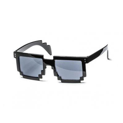 Okulary 8-bitowe - Thug Life