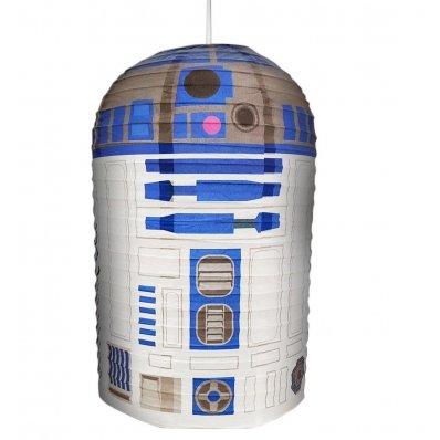 Abażur Star Wars R2-D2 - świetny design obudowy kultowego droida