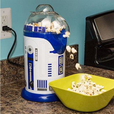Maszyna Do Popcornu Star Wars R2-D2 - zdrowy popcorn w szybki i prosty sposób. Idalna dla fana Gwiezdnej Sagi.