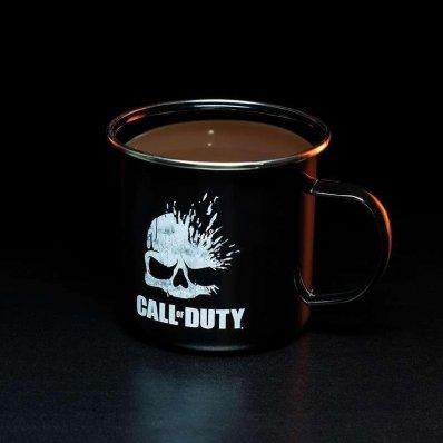 Kubek Call Of Duty Metalowy - idealny na front i na biurko.