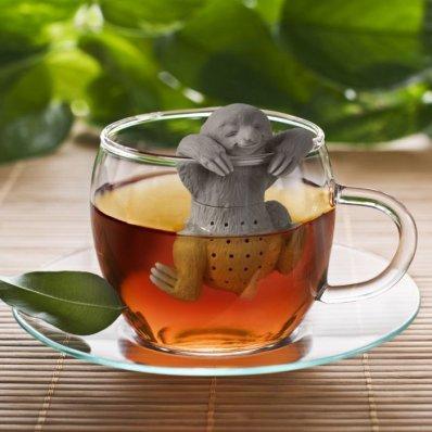 Leniwy Zaparzacz Do Herbaty - gdzie tak pędzisz? Napij się herbaty! Człowieku!