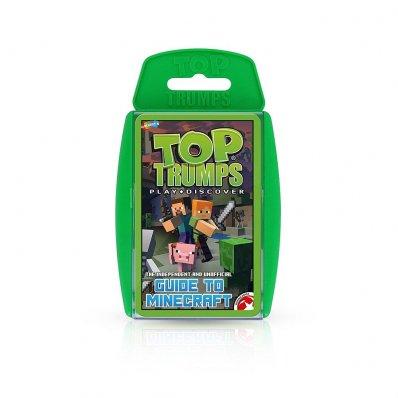 Karciany przewodnik po Minecraft Top Trumps - sprawdź który mob jest najsilniejszy - graj ze znajomymi!
