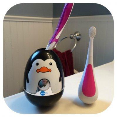 Dezynfektor UV szczoteczki - pingwin lub ninja!