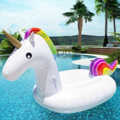 Pływający Jednorożec - doskonała i bezpieczna zabawa dla dorosłych i dzieci