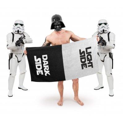 Ręcznik Mocy - Light Side/Dark Side - świetny ręcznik dla fana Star Wars