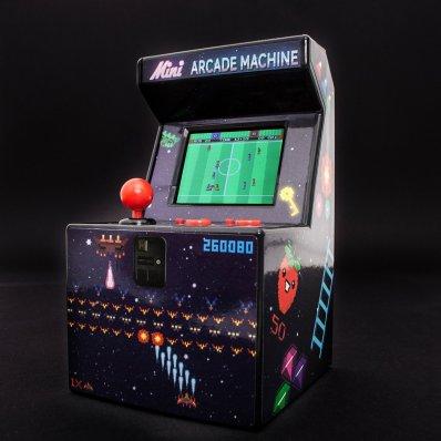 Miniaturowy Retro Arcade Box - wróć do czasów combosów z 240 unikalnymi grami 16 bit