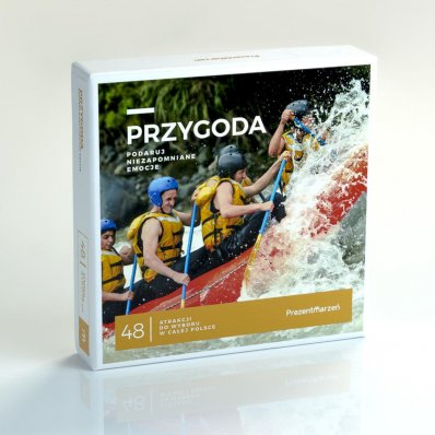 Pakiet atrakcji PRZYGODA - ponad 40 niesamowitych przeżyć.