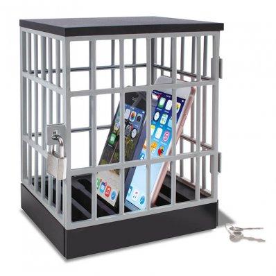 Klatka Na Smartfony - ciesz się towarzystwem znajomych a nie statusami na fejsie.