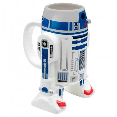 Kubek Star Wars 3D R2-D2 dla każdego fana Gwiezdnej Sagi