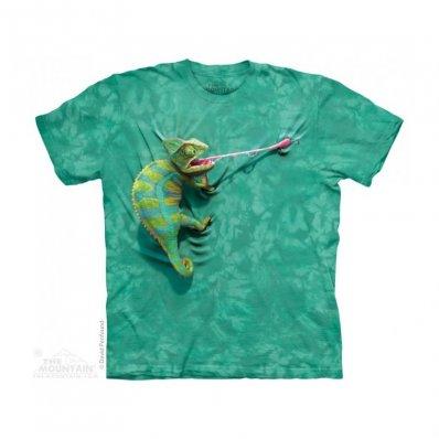 Koszulka 3D The Mountain Climbing Chameleon
