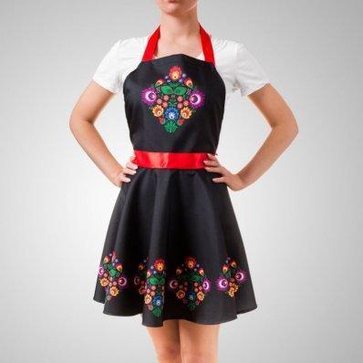Fartuszek Sukienka - dla wytwornej Pani domu!