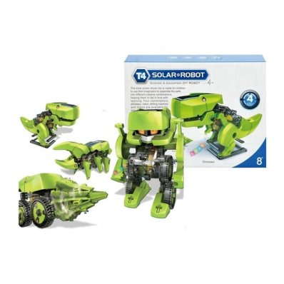 Robot Solarny 4 w 1 - zabawka edukacyjna