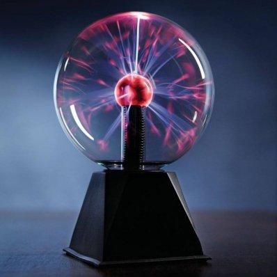 Kula plazmowa - reaguje na dźwięki i dotyk