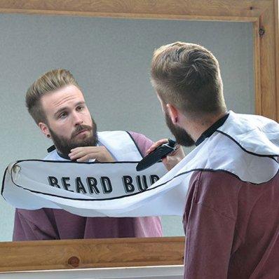 Zestaw do golenia Beard Buddy - nigdy więcej sprzątania po goleniu!