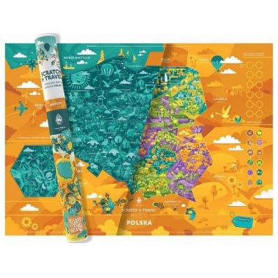 Mapa Zdrapka Polska – Mapito