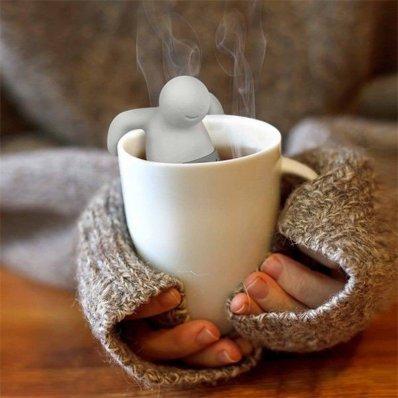 """Zaparzacz do herbaty """"Czas na kąpiel"""" - niebywały design"""
